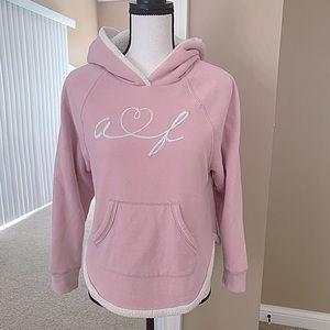 Abercrombie & Fitch Light Pink Sweatshirt